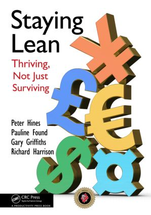 Staying Lean: Thriving, Not Just Surviving, Second Edition, 2nd Edition (Paperback) book cover