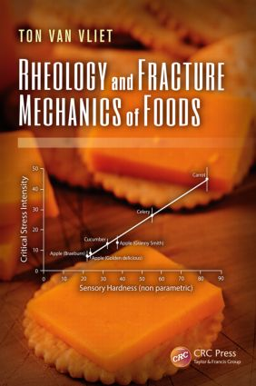 Rheology and Fracture Mechanics of Foods: 1st Edition (Hardback) book cover