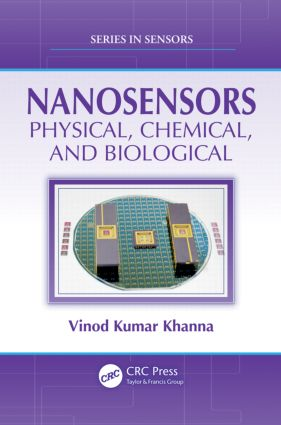 Nanosensors: Physical, Chemical, and Biological book cover