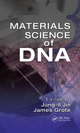 Materials Science of DNA (Hardback) book cover
