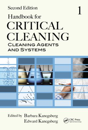 Handbook for Critical Cleaning: Cleaning Agents and Systems, Second Edition, 2nd Edition (Hardback) book cover
