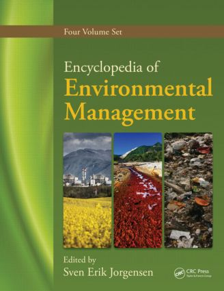 Encyclopedia of Environmental Management, Four Volume Set (Print Version) (Hardback) book cover