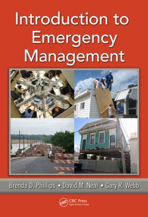 Introduction to Emergency Management (Hardback) book cover