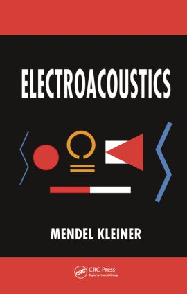Electroacoustics: 1st Edition (Hardback) book cover