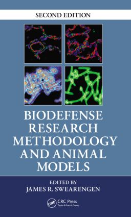 Biodefense Research Methodology and Animal Models: 2nd Edition (Paperback) book cover