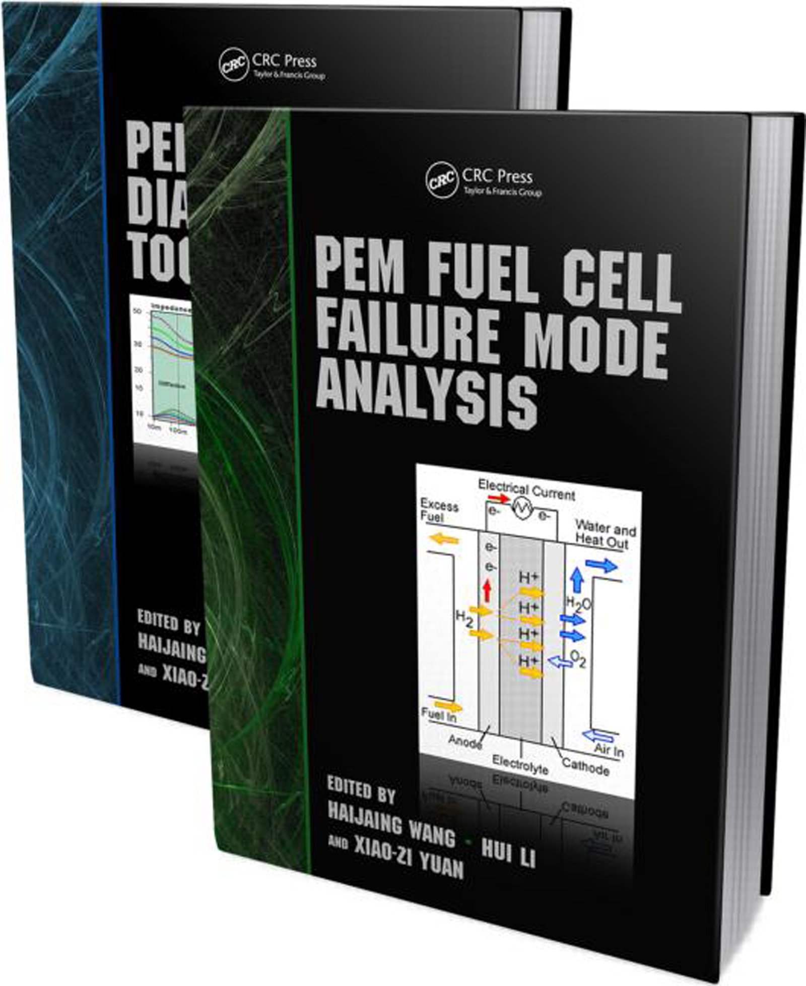 PEM Fuel Cell Durability Handbook, Two-Volume Set: 1st Edition (Hardback) book cover