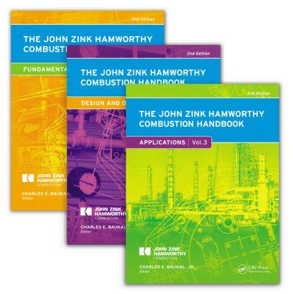 The Slipcover for The John Zink Hamworthy Combustion Handbook: Three-Volume Set book cover