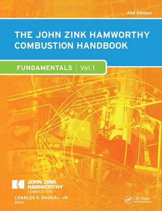 The John Zink Hamworthy Combustion Handbook: Volume 1 - Fundamentals book cover
