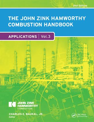 The John Zink Hamworthy Combustion Handbook: Volume 3 - Applications book cover
