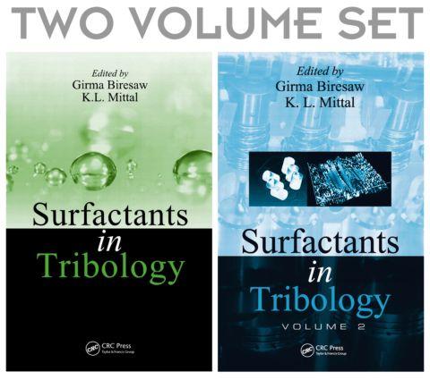 Surfactants in Tribology, 2 Volume Set: 1st Edition (Hardback) book cover