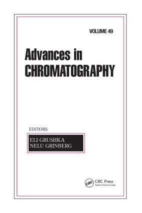 Advances in Chromatography, Volume 49: 1st Edition (Hardback) book cover
