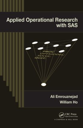 Applied Operational Research with SAS (Hardback) book cover