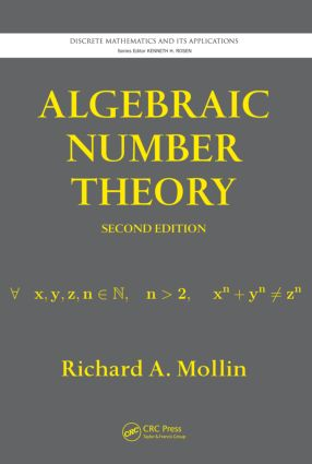 Algebraic Number Theory: 2nd Edition (Hardback) book cover