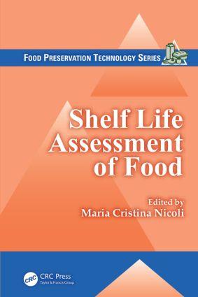 Shelf Life Assessment of Food (Hardback) book cover