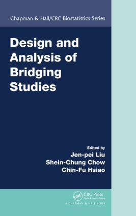 Design and Analysis of Bridging Studies (Hardback) book cover