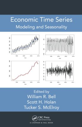 Economic Time Series: Modeling and Seasonality, 1st Edition (Hardback) book cover