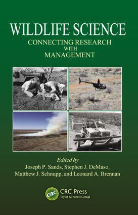 Wildlife Science: Connecting Research with Management (Hardback) book cover