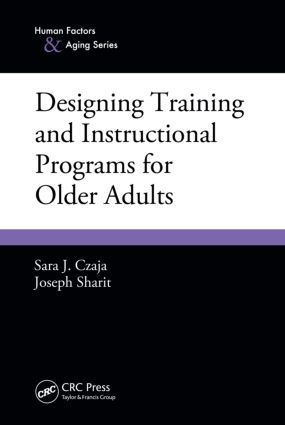 Designing Training and Instructional Programs for Older Adults (Paperback) book cover