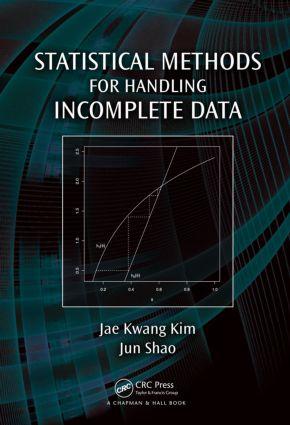 Statistical Methods for Handling Incomplete Data: 1st Edition (Hardback) book cover
