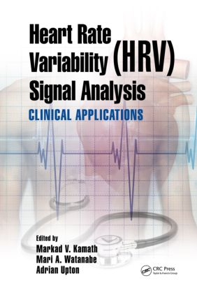 Heart Rate Variability (HRV) Signal Analysis: Clinical Applications (Hardback) book cover