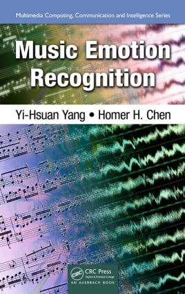 Music Emotion Recognition (Hardback) book cover