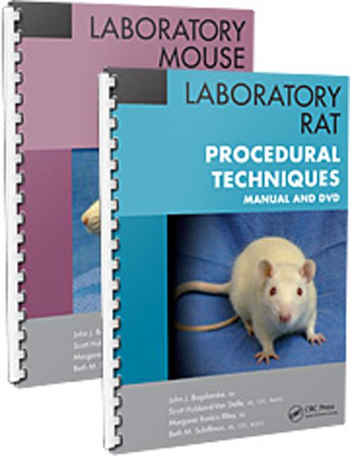 Laboratory Mouse and Laboratory Rat Procedural Techniques: Manuals and DVDs, 1st Edition (Paperback) book cover