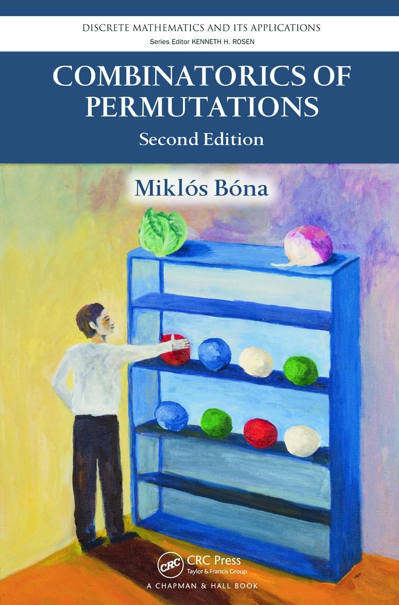 Combinatorics of Permutations, Second Edition: 2nd Edition (Hardback) book cover