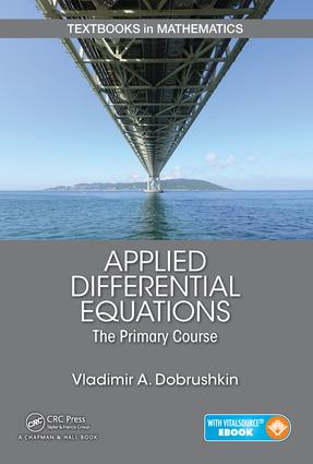 Applied Differential Equations: The Primary Course, 1st Edition (Hardback) book cover