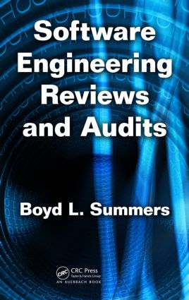 Software Engineering Reviews and Audits: 1st Edition (Hardback) book cover