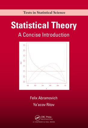 Statistical Theory: A Concise Introduction (Hardback) book cover