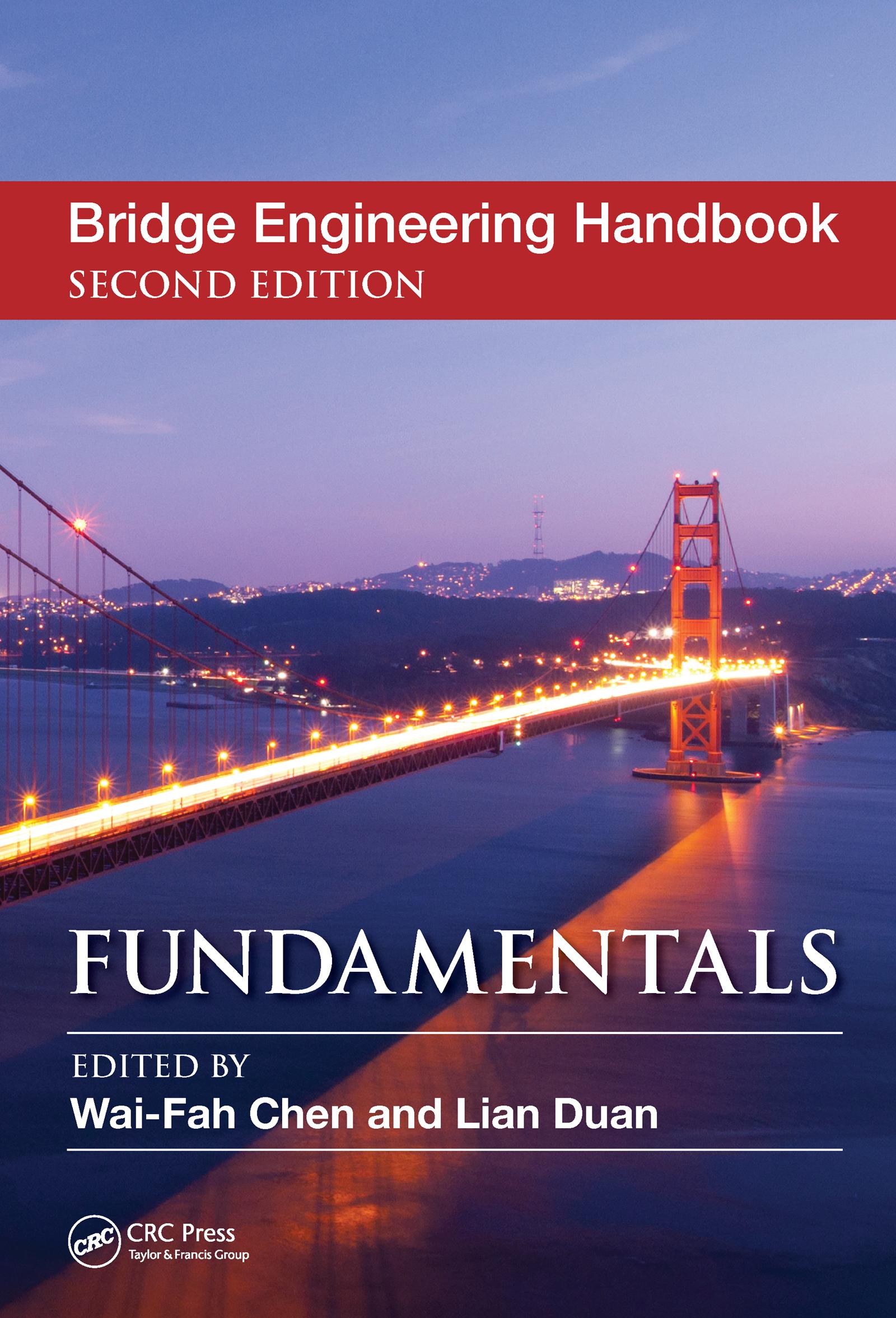 Bridge Engineering Handbook: Fundamentals, 2nd Edition (Hardback) book cover