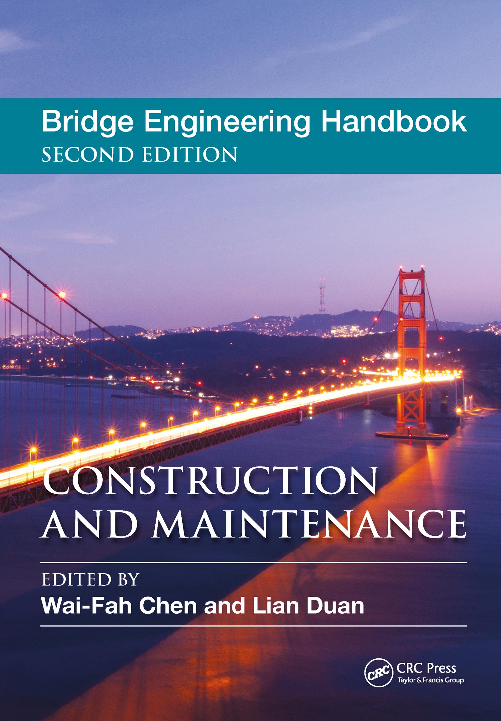 Bridge Engineering Handbook: Construction and Maintenance, 2nd Edition (Hardback) book cover