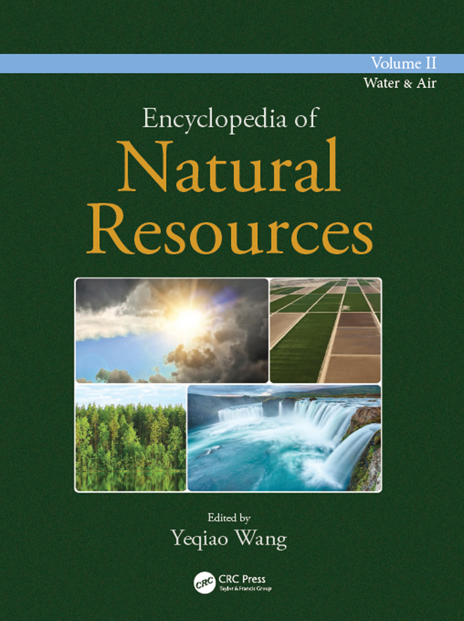 Encyclopedia of Natural Resources - Water and Air - Vol II book cover