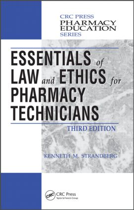 Essentials of Law and Ethics for Pharmacy Technicians book cover