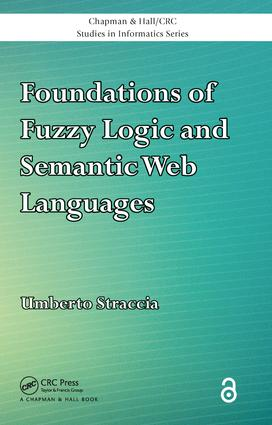 Foundations of Fuzzy Logic and Semantic Web Languages book cover