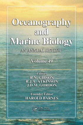 Oceanography and Marine Biology: An Annual Review, Volume 49 book cover