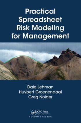 Practical Spreadsheet Risk Modeling for Management: 1st Edition (Hardback) book cover