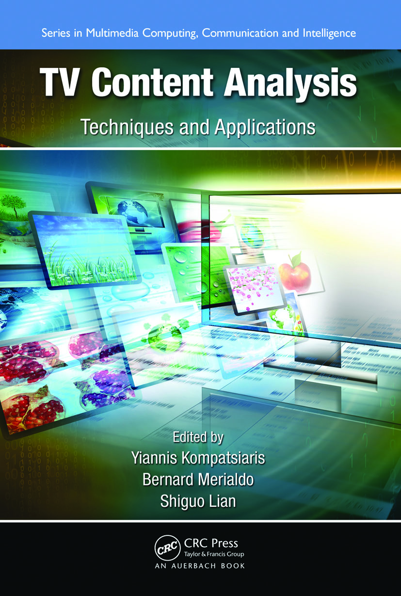 TV Content Analysis: Techniques and Applications (Hardback) book cover