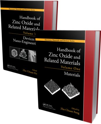 Handbook of Zinc Oxide and Related Materials: Two Volume Set, 1st Edition (Hardback) book cover