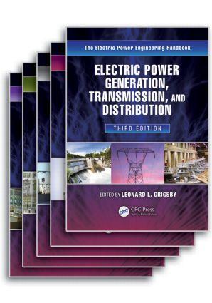 The Electric Power Engineering Handbook - Five Volume Set: 3rd Edition (Hardback) book cover