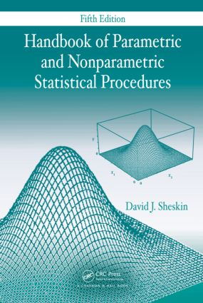 Handbook of Parametric and Nonparametric Statistical Procedures, Fifth Edition: 5th Edition (Hardback) book cover