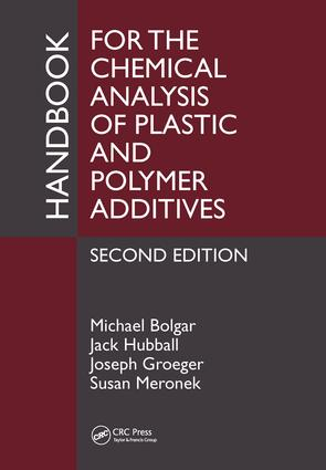 Handbook for the Chemical Analysis of Plastic and Polymer Additives: 2nd Edition (Hardback) book cover