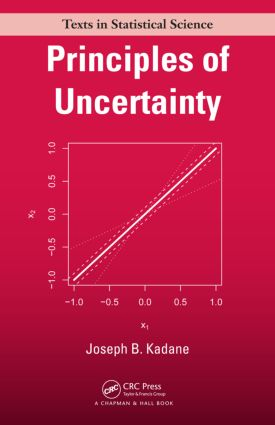 Principles of Uncertainty (Hardback) book cover