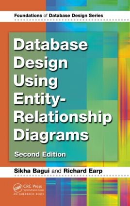 Database Design Using Entity-Relationship Diagrams: 2nd Edition (Hardback) book cover