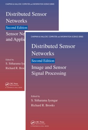 Distributed Sensor Networks, Second Edition: Two Volume Set, 2nd Edition (Hardback) book cover