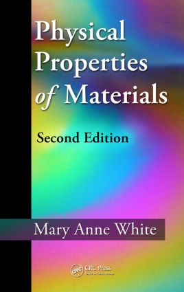 Physical Properties of Materials: 2nd Edition (Hardback) book cover