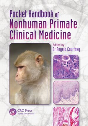 Pocket Handbook of Nonhuman Primate Clinical Medicine (Paperback) book cover