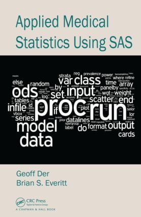 Applied Medical Statistics Using SAS (Hardback) book cover