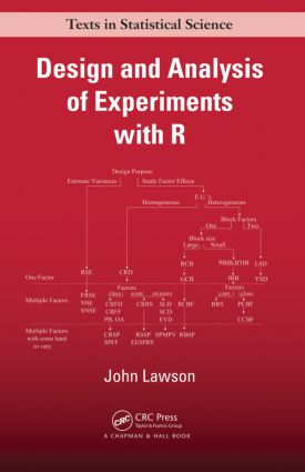 Design and Analysis of Experiments with R: 1st Edition (Hardback) book cover