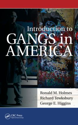 Introduction to Gangs in America book cover